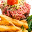 Tasty tartare — Stockfoto