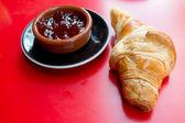 Färsk croissant — Stockfoto