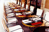 Paris coffee terrace — Stock Photo