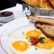 Prepared Egg — Stockfoto