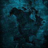 高齢者アメリカ地図ヴィンテージ — ストック写真