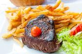 Succosa bistecca — Foto Stock