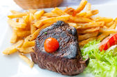šťavnatý steak — Stock fotografie