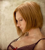 Woman in lingerie — Stock Photo
