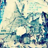 Vecchi poster — Foto Stock