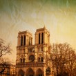 Notre Dame Cathedral in paris — Stock Photo #21464903