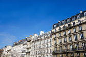 Beautiful old fashioned paris building — Stock Photo
