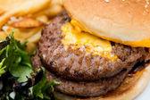 Hambúrguer americano — Foto Stock