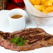 Juicy steak beef  — Stock Photo