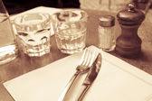 Table setting — Photo