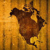 Aged America map vintage — Stock Photo