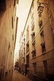 Beautiful Parisian streets — Stock Photo