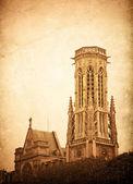 Antiguo edificio de la iglesia — Foto de Stock