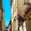 Beautiful Parisian sunshine streets view - Stock fotografie