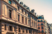 Beautiful Parisian sunshine streets view — Stock Photo