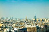 Beautiful Parisian sunshine streets view — Stock Photo