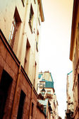 Antique city view — Stock Photo