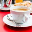 Cup of hot coffee — Stockfoto