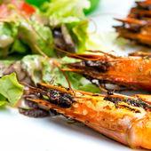 Delicious fried shrimp — Foto de Stock