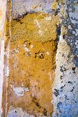 Parete sgangherata marrone — Foto Stock