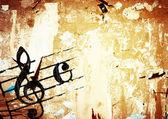 Grunge-melodie — Stockfoto