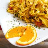 美味的意大利面 — 图库照片