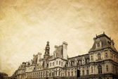 Beautiful Parisian streets — Stock Photo
