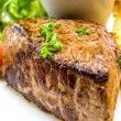 Juicy steak beef meat — Foto de Stock