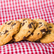Stock Photo: Chocolate chips cookies