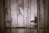 Old wooden door — Photo