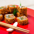 Fresh sushi traditional japanese food — Lizenzfreies Foto