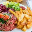 Tasty Steak tartare (Raw beef) — Lizenzfreies Foto