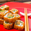 Fresh sushi traditional japanese food — Stock Photo