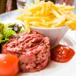 Stock Photo: Tasty Steak tartare