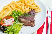 Delicious juicy steak beef meat — Stock Photo