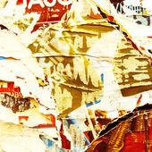 Eski posterleri grunge textures — Stok fotoğraf