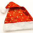 Red Santa Claus hats — Stock Photo