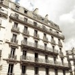 Antique city building in paris — Stock Photo