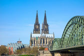 View on Cologne Cathedral — Stock Photo