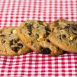 Chocolate chips cookies — Stock Photo #33565337