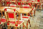 昔ながらのカフェテラス — ストック写真