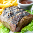 Juicy steak beef meat — Stock Photo #34869511