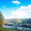 View to old town of Heidelberg — Stock Photo