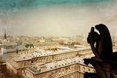 Antika staden byggnad i paris — Stockfoto