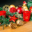 Christmas decoration — Stock Photo #35244605