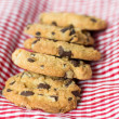 Chocolate chips cookies — 图库照片