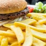 Cheese burger — Stock Photo #35455911