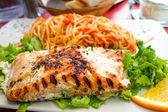 Grilled Salmon — Стоковое фото