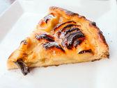 One slice of pie dessert — Stock Photo