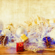 Stock Photo: Old fashioned christmas decoration